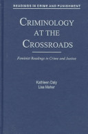 Criminology at the Crossroads