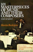 101 Masterpieces of Music and Their Composers