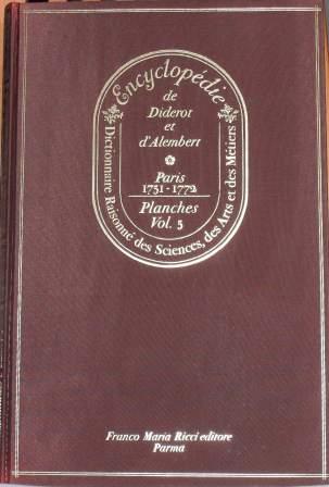 Encyclopédie, Tome V