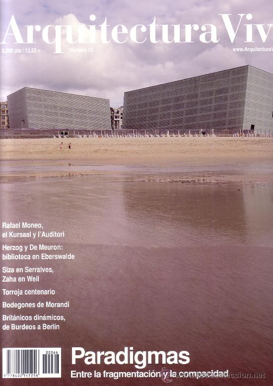Revista Arquitectura Viva Nº66: Paradigmas
