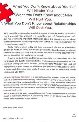 What Women Don't Know and Men Don't Tell You