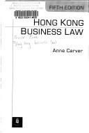 Hong Kong Business Law