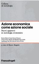 Azione economica come azione sociale
