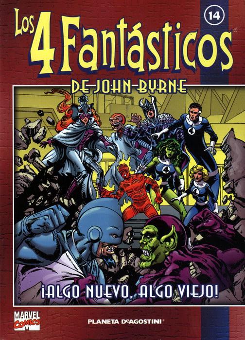 Coleccionable Los 4 Fantásticos de John Byrne #14 (de 25)