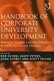Handbook Of Corporate University Development