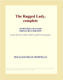 The Ragged Lady, Complete (Webster's Spanish Thesaurus Edition)