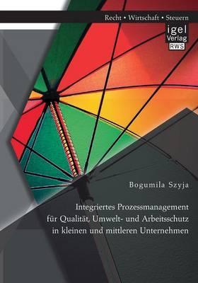 Integriertes Prozessmanagement für Qualität, Umwelt- und Arbeitsschutz in kleinen und mittleren Unternehmen