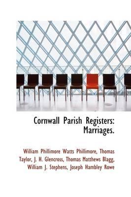 Cornwall Parish Registers