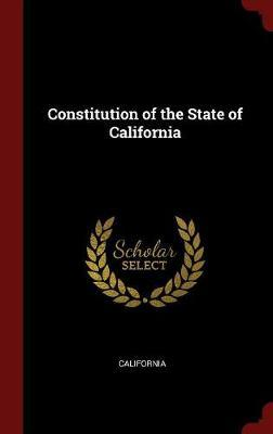 Constitution of the State of California