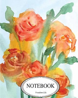 Notebook Orange Rose...
