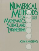 Numerical Methods for Mathematics, Science, and Engineering