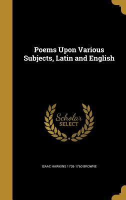 POEMS UPON VARIOUS SUBJECTS LA