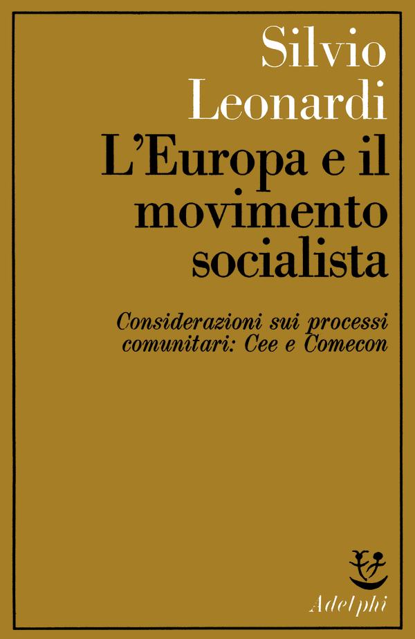 L'Europa e il movimento socialista