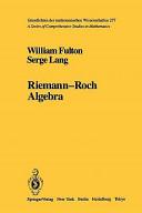 Riemann-Roch Algebra