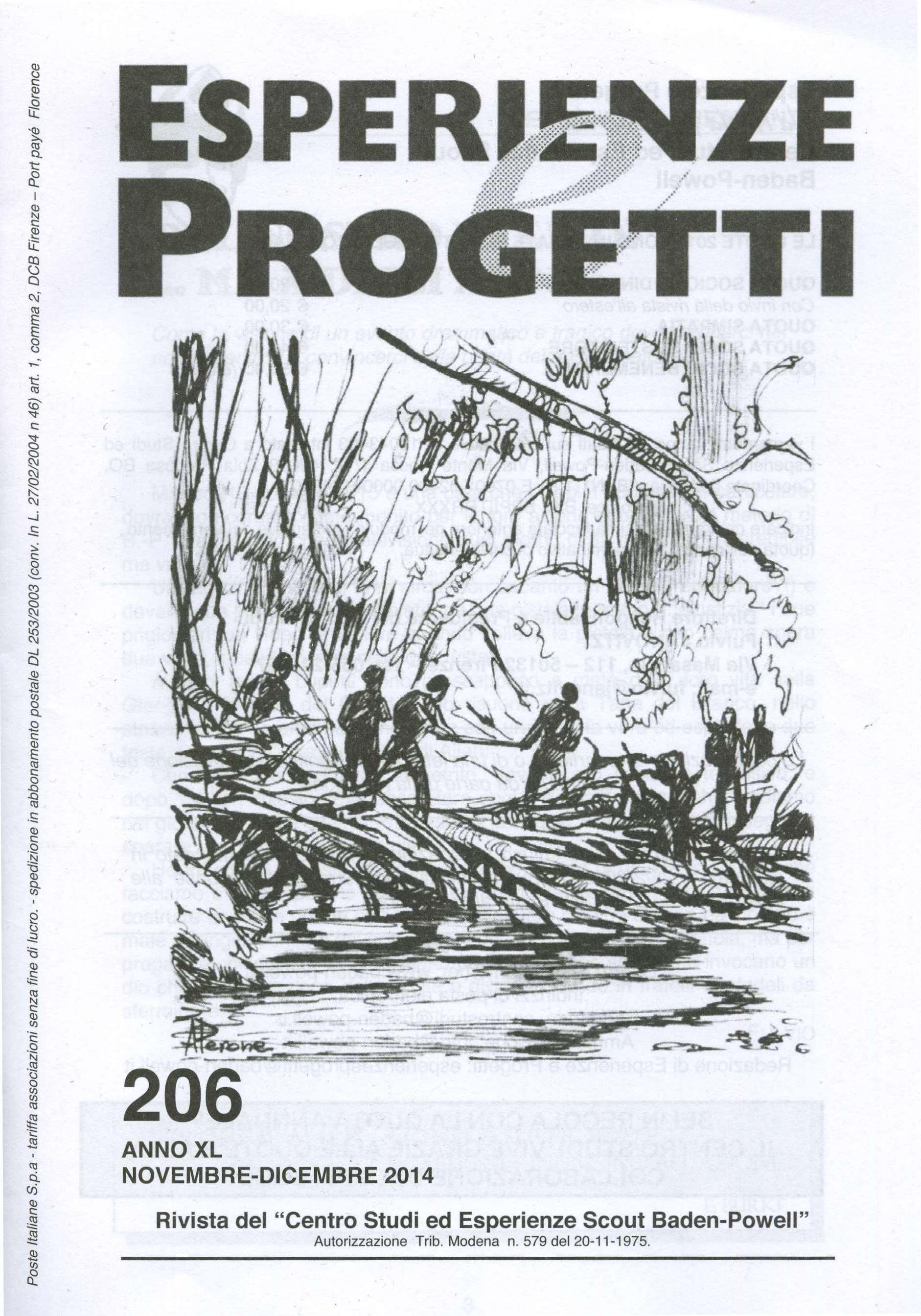 Esperienze & Progetti n. 206