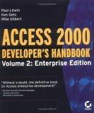 Access 2000 Developer's Handbook, Volume 2
