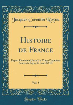 Histoire de France, Vol. 5