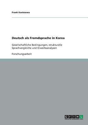 Deutsch als Fremdsprache in Korea