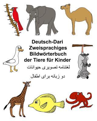 Deutsch-dari Zweisprachiges Bildwörterbuch Der Tiere Für Kinder