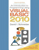 An introduction to programming using Visual Basic 2010