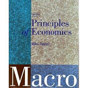 Principles of Economics: Macro