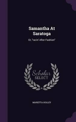 Samantha at Saratoga