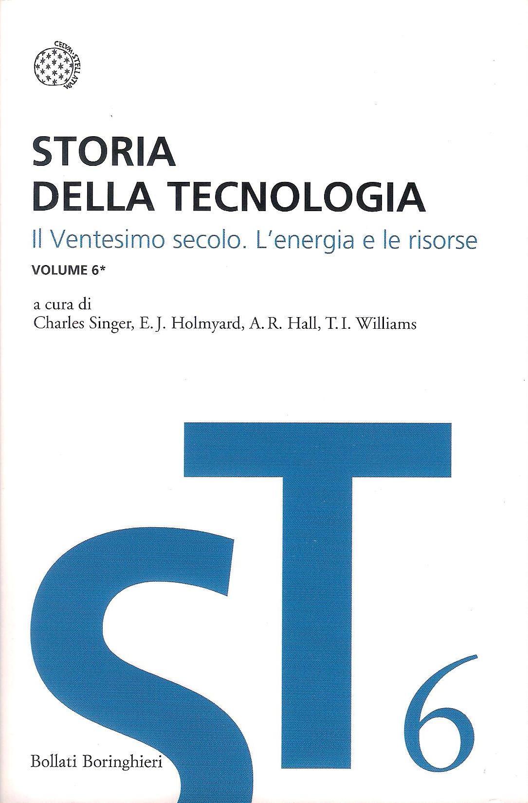 Storia della tecnologia - Vol. 6.1