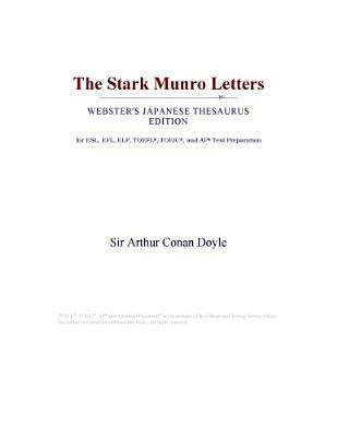 The Stark Munro Letters (Webster's Japanese Thesaurus Edition)