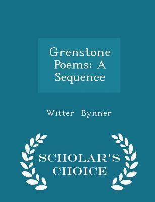 Grenstone Poems