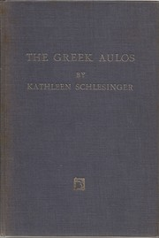 The Greek Aulos