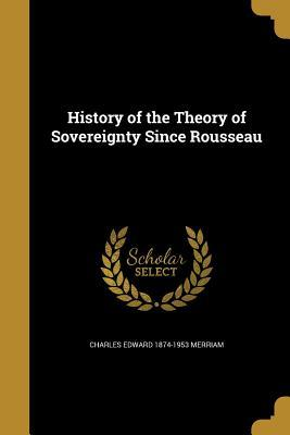 HIST OF THE THEORY OF SOVEREIG