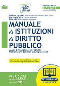 Manuale di istituzioni di diritto pubblico. Analisi di principi generali, istituti e problematiche dottrinali e giurisprudenziali. Con espansione online