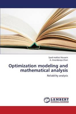 Optimization modeling and mathematical analysis