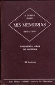Mis memorias: 1802 a 1850, cincuenta años de historia, Tomo II