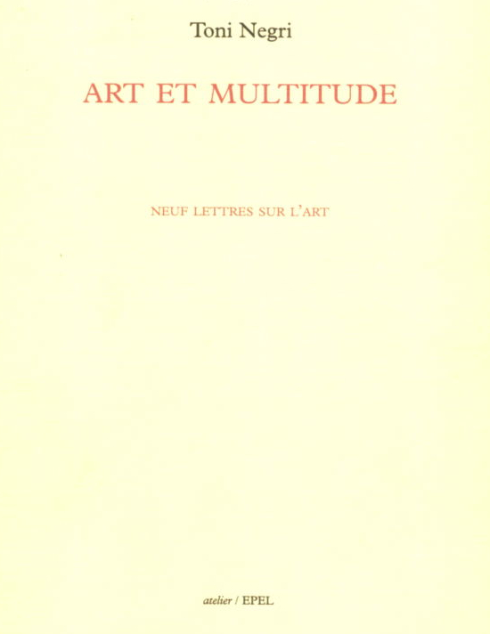 Art et multitude