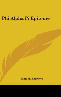 Phi Alpha Pi Epitome