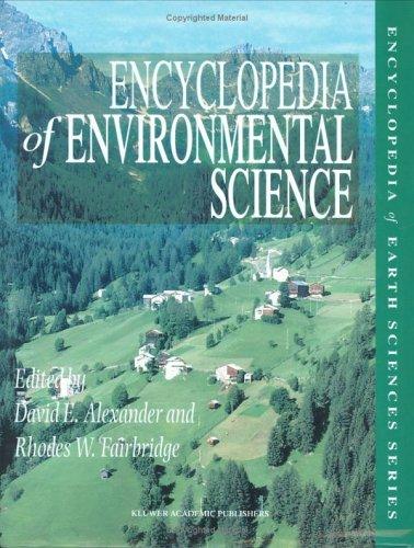 Encyclopedia of Environmental Science
