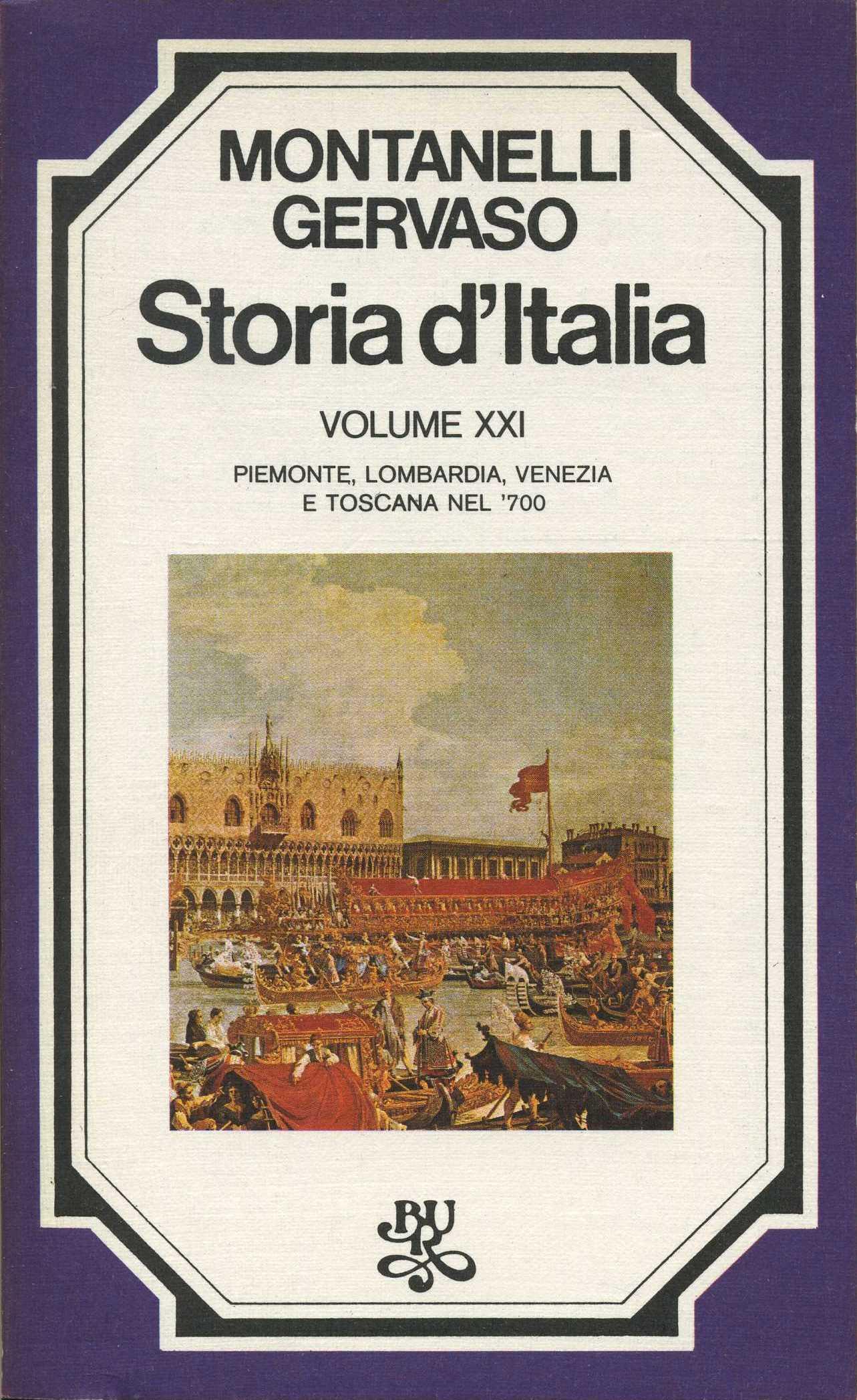 Storia d'Italia / vol. XXI