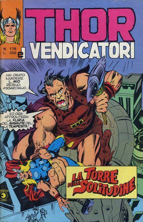 Thor e i Vendicatori (Il Mitico Thor) n. 178