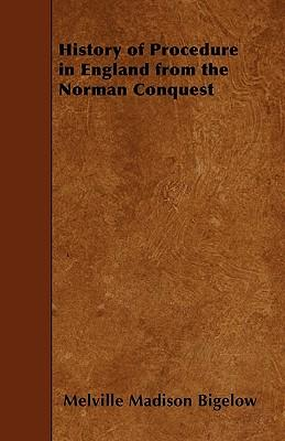 History Of Procedure In England From The Norman Conquest - The Norman Period (1066-1204)