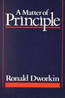 A Matter of Principl...
