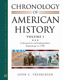 Chronology of American History