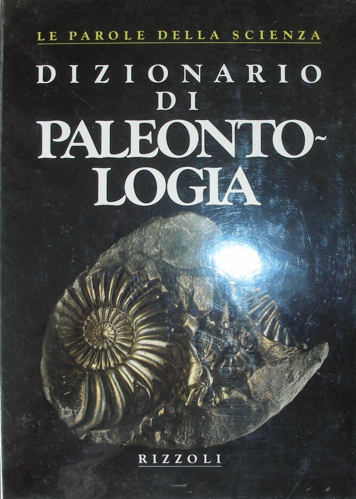 Dizionario di paleontologia