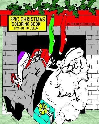 Epic Christmas Coloring Book