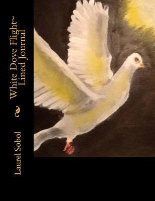 White Dove Flight Lined Journal