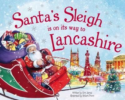 Santa's Sleigh is on its Way to Lancashire