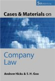 Cases and Materials on Company Law