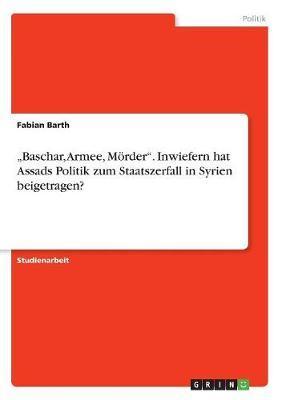 """""""Baschar, Armee, Mö..."""