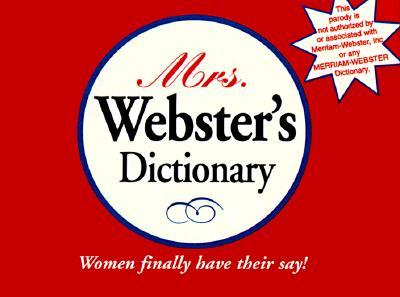 Mrs. Webster's Dictionary