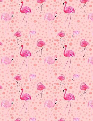 Flamingo Journal Notebook - Dot Grid